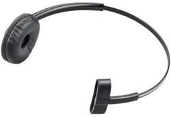 "Product # 84605-01   <ul> <li><span class=""blackbold"">Over-the-Head Headband</span> <li>Easy To Wear</li> <li>Sleek &amp; Stylish Design</li> <li>Leather Ear Cushion For Added Comfort</li> </ul>"