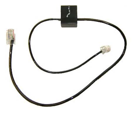 plantronics cable tele 86007 01