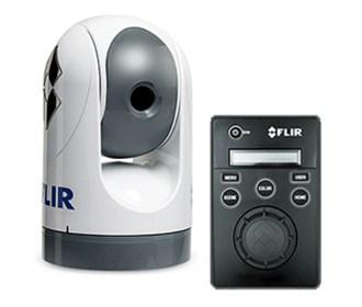 flir m324s stabilized thermal visable camera