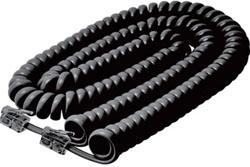 <ul> <li>Telephone Coil Cord</li> <li>15 Ft. Length</li> </ul>