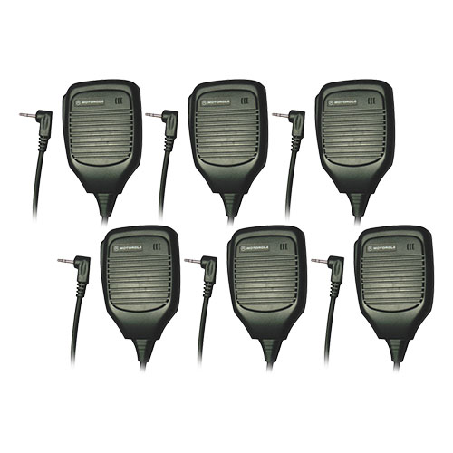 motorola 53724 remote speaker microphone 6 pack