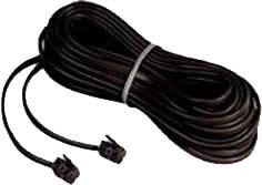 """<ul> <li><span class=""""blackbold"""">Standard Telephone Cord Set</span></li> <li>With 4-Conductors</li> <li>RJ11 Male Connectors on Both Ends</li> </ul>"""