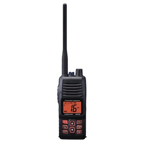 standard horizon hx400is handheld vhf case of 20