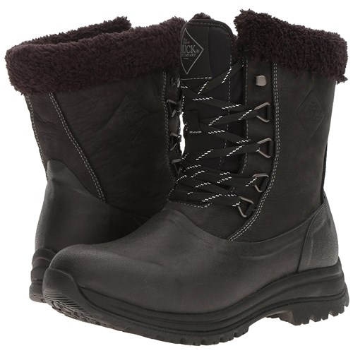 the muck boot company womens arctic apres lace mid