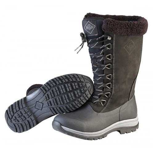 the muck boot company womens arctic apres lace tall