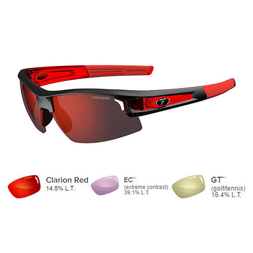 tifosi synapse sunglasses race red