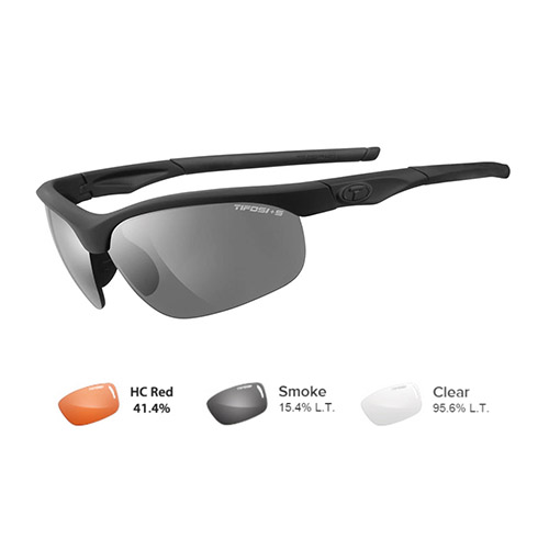 tifosi veloce tactical safety sunglasses matte black