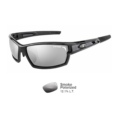 tifosi camrock gloss black polarized sunglasses
