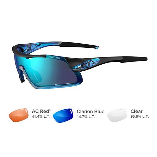 tifosi davos crystal blue sunglasses