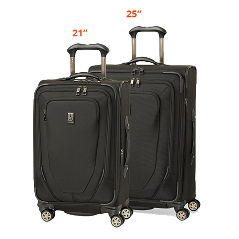 travelpro crew 10 spinner suiter 21inch 25 inch