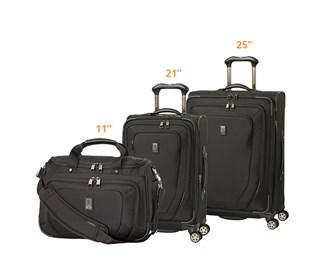 travelpro crew10 21 spinner 25 spinner and tote set