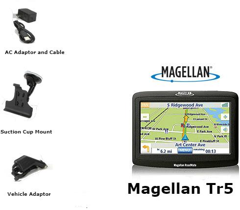 magellan explorist tr5 trail  street gps navigator