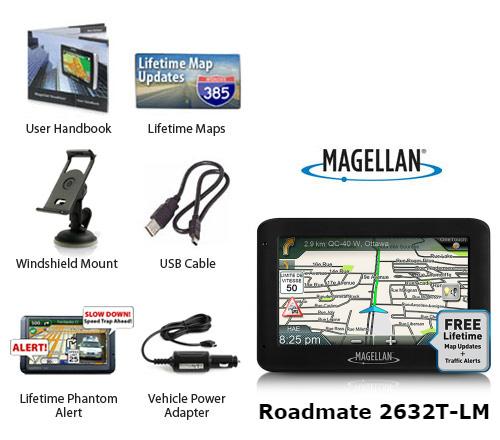 magellan roadmate 2632t lm