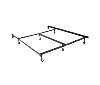 simmons beautyrest premium clamp style universal bed frame sim 1870brg i
