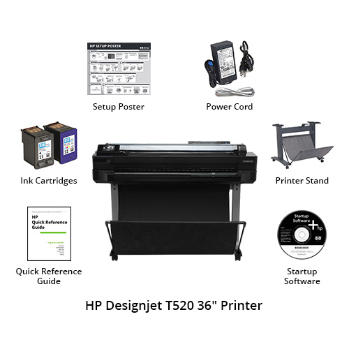 hp designjet t520 36 inch printer