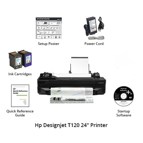 hp designjet t120 24 inch printer
