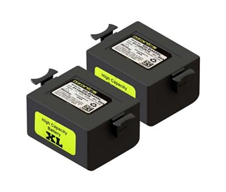 xl battery for ozonics orionx/orion/hr300 2 pack