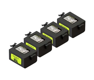 xl battery for ozonics orionx/orion/hr300 4 pack