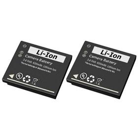 battery for panasonic cb bck7 2 pack