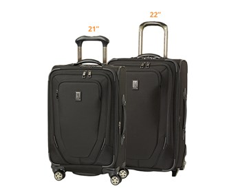 travelpro crew10 21 spinner plus 22 spinner