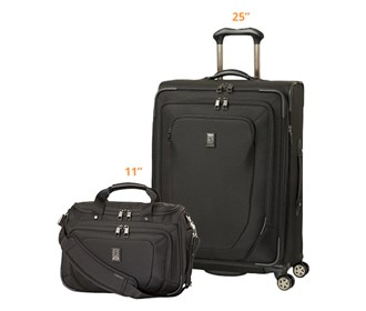 travelpro crew10 25 spinner plus 11 spinner