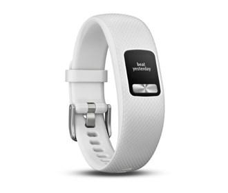 garmin vivofit 4 white small/medium
