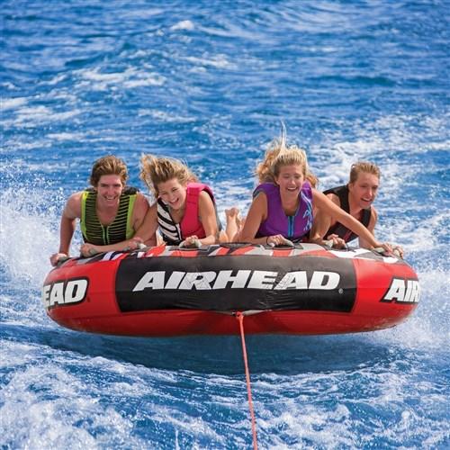 airhead mega slice towable 4 person