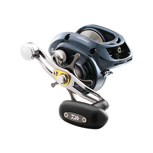 daiwa lexa 300 baitcasting reel with clicker