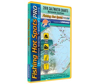 fishing hot spots pro sw 2018 digital map and fishing chip salt water e188