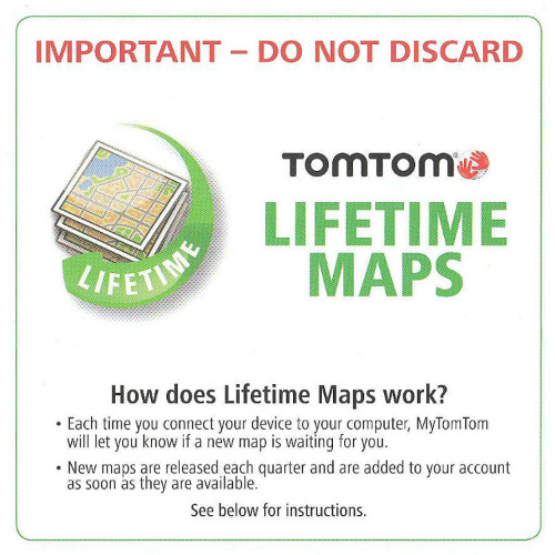 tomtom lifetime maps us canada mexico