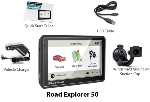 rand mcnally road explorer50 refurbished