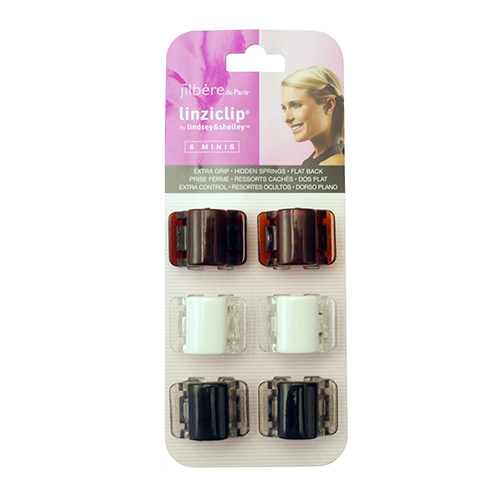 jilbere linziclip mini white brown black caaccjb37140