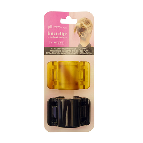 jilbere linziclip midi gold and black caaccjb37110
