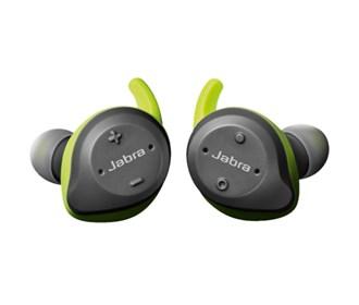 Jabra Elite Sport Lime Green and Grey