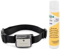 "<ul> <li><span class=""blackbold"">Elite Big Dog Spray Bark Control</span></li> <li><span class=""bluebold"">For Dogs 40 Pounds &amp: Up</span></li> <li>Gentle Spray Stops Barking <li>Perfect Bark Technology <li>Good/Low Battery &amp; Spray Indicator</li> <li>Waterproof Receiver Collar <li>Citronella Spray (Included) <li>Unscented Spray Refills Available  </ul>"