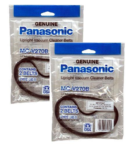 panasonic mc v270b 2 pack