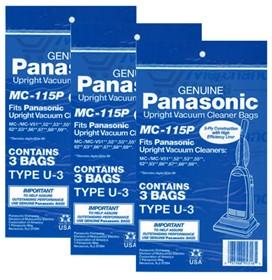 panasonic mc 115p 3 pack