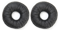 "Product # 14101-02 <ul> <li><span class=""blackbold"">Replacement Leather Ear Cushions</span> </ul>"