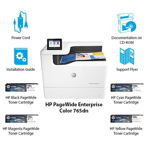 hp page wide enterprise color 765dn