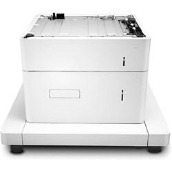 """Product # J8J92A <br/> <br/> <ul> <li><span class=""""blackbold"""">Paper Feeder &amp; Stand</span></li> <li>Media Capacity:  <br />- 1 x 550 Sheet <br />- 1 x 2000 Sheet</li> <li>Total Media Capacity: 2550</li>  </ul>"""