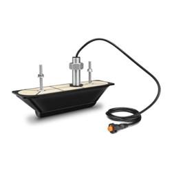"""Product # 010-12776-10 <br/> <ul> <li>Thru-Hull 12-Pin Transducer</li> <li><span class=""""blackbold"""">Provides Depth &amp; Temp</span></li> <li>Ultra HD CHIRP SideVü/ClearVü Operating Frequency <span class=""""blackbold"""">800 to 1,200 kHz</span></li> <li>0-25&deg; Deadrise Angle</li> <li>Maximum Depth of 250'</li> </ul>"""