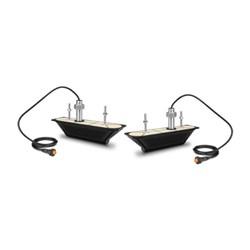 """Product # 010-12776-11 <br/> <ul> <li>Thru-Hull 12-Pin Transducer Pair</li> <li><span class=""""blackbold"""">Provides Depth &amp; Temp</span></li> <li>Ultra HD CHIRP SideVü/ClearVü Operating Frequency <span class=""""blackbold"""">800 to 1,200 kHz</span></li> <li>0-25&deg; Deadrise Angle</li> <li>Maximum Depth of 250'</li> </ul>"""
