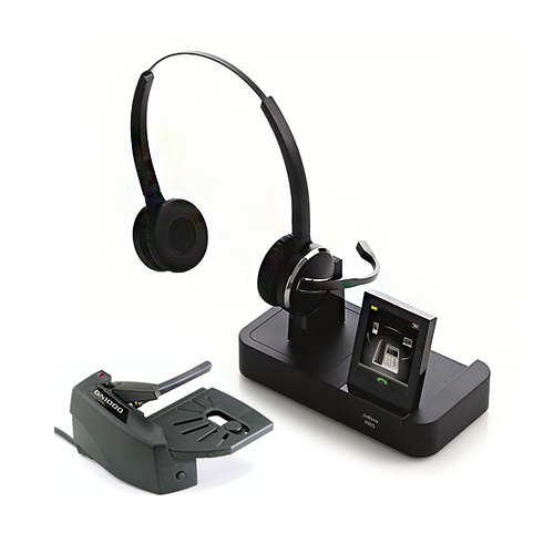jabra pro9465 duo with lifter
