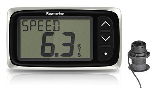 raymarine i40 display system with transducer