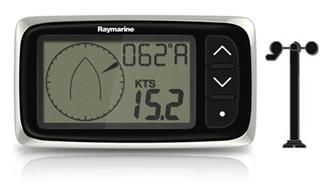 raymarine i40 display system with transducer