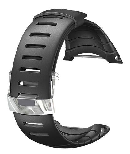 suunto core standard elastomer watch strap black
