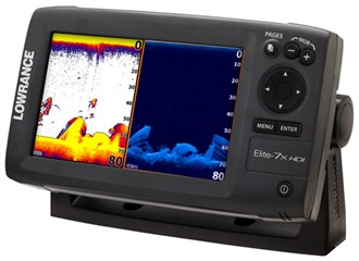 lowrance elite 7x hdi with 83 200 455 800