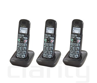 clarity d703hs handset 3 pack