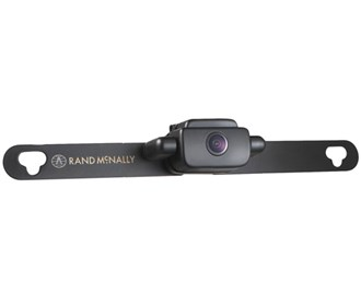 rand mcnally wifi license plate backup camera