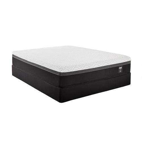 sealy hybrid essentials trust ii twin xl size firm mattress and standard box spring set. Black Bedroom Furniture Sets. Home Design Ideas